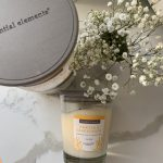 Essential Elements, Essential Oils + Natural Wax Candle (Vanilla & Sandalwood)